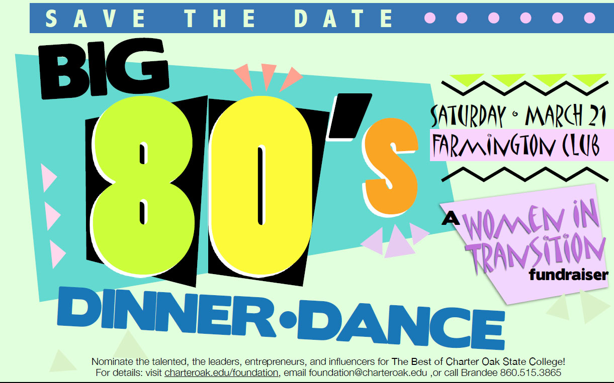 COSC Foundation Big 80s Dinner Dance & WIT Fundraiser