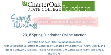 Foundation Online Auction Scholarship Fundraiser