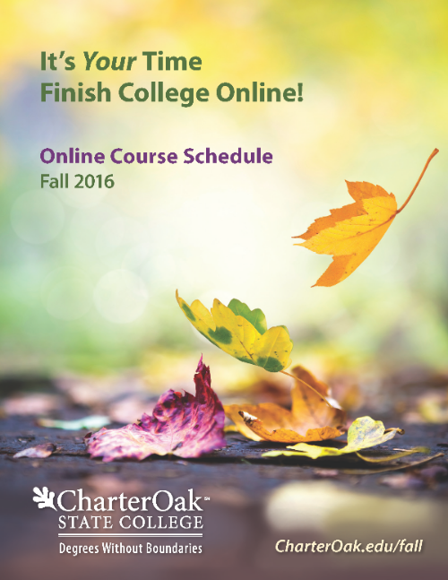Course schedule cover