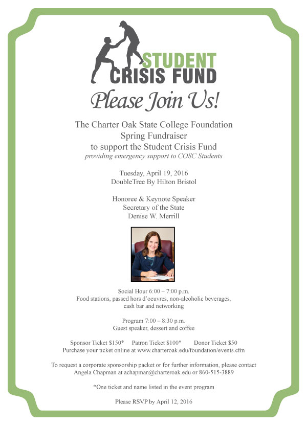 Student Crisis Fund Fundraiser - Emergency Support for COSC Students