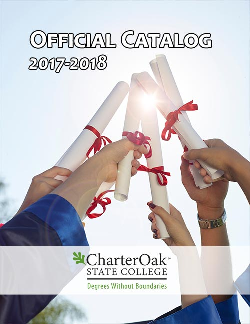 Charter Oak State College Official Catalog cover